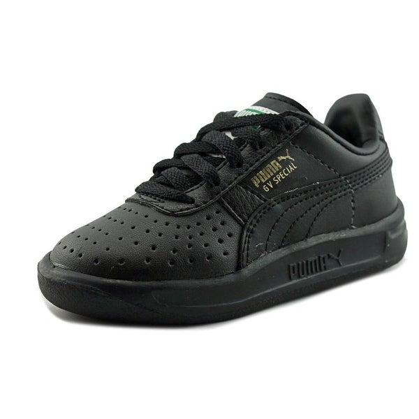 new arrival f3d72 4e8d7 Shop Puma Gv Special Kids Toddler Round Toe Leather Black ...