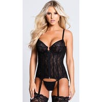 Everything You Want Bustier - Black