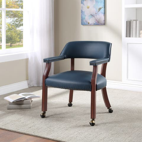 Callum Caster Game and Dining Chair by Greyson Living