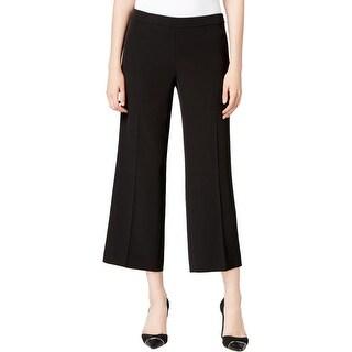 Calvin Klein Womens Dress Pants Twill Cropped