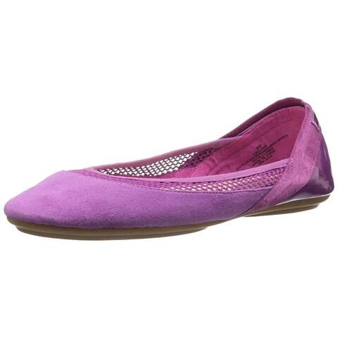Easy Spirit Womens Yughe Round Toe Ballet Flats