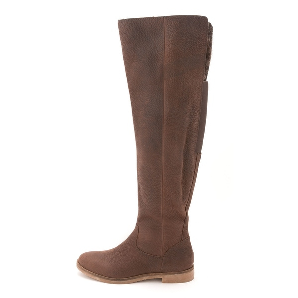 Lucky Brand Womens Generall Closed Toe Knee High Fashion Boots