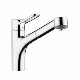 Hansgrohe 04704 Talis Loop Single Handle Pull-Out Spray Kitchen Faucet with Lock