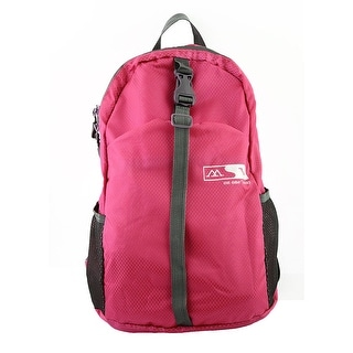 Lightweight Foldable Outdoor Hiking Camping Daypack Travel Backpack Bag Fuchsia