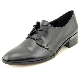 Ivanka Trump Emale Round Toe Leather Oxford