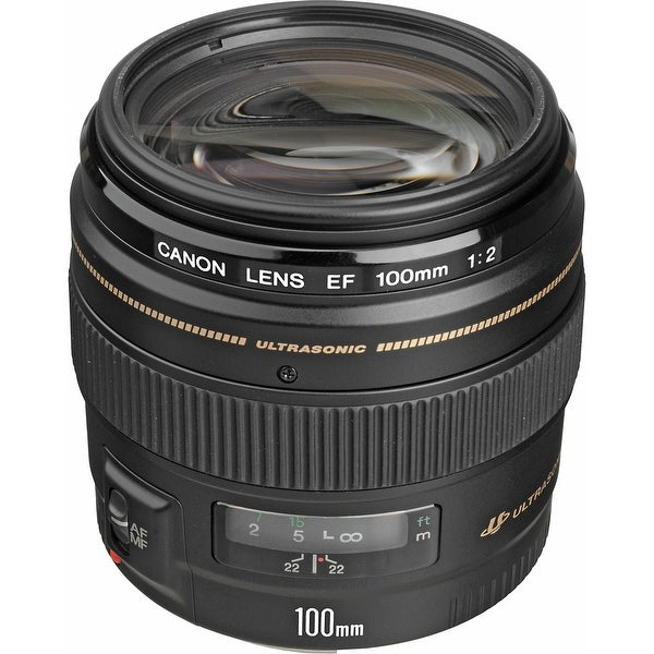Canon EF 100mm f/2 USM Lens (International Model)