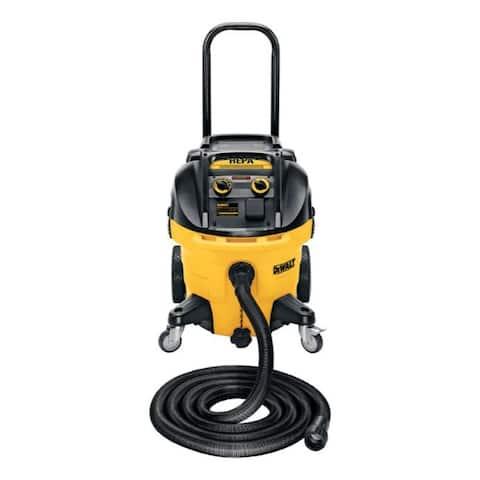 DeWalt 10 gal. Corded Wet/Dry Vacuum 15 amps Yellow 44 lb.