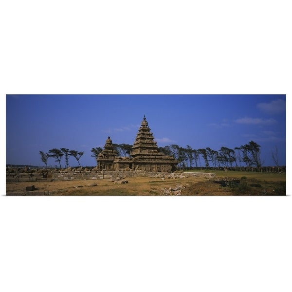 Shop Poster Print Entitled Ruins Of A Temple Shore Temple