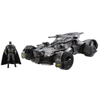 DC Justice League Ultimate Batmobile RC Vehicle & Figure - Multi