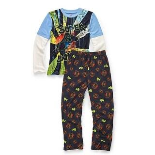 Hanes Boys' Sleepwear 2-Piece Set, Super Gamer Print - Size - 8/9 - Color - Super Gamer