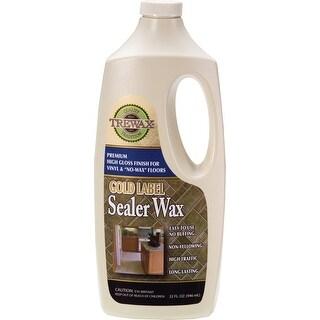 Trewax 887135027 Gold Label Gloss Sealer Wax, 1 Quarts