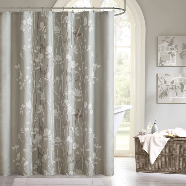 Copper Grove Evanoff Printed Shower Curtain. Opens flyout.