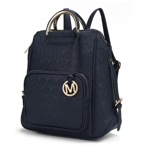 MKF Collection Torra Milan M Signature Trendy Backpack