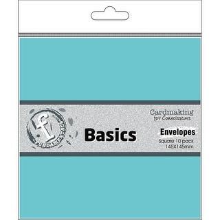 """Fundamentals Cardmaking Envelopes 5.75""""X5.75"""" 10/Pkg-Sky"""