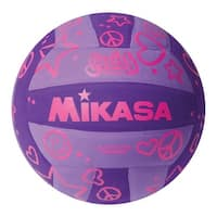 Mikasa Squish Volleyball, Purple, Round