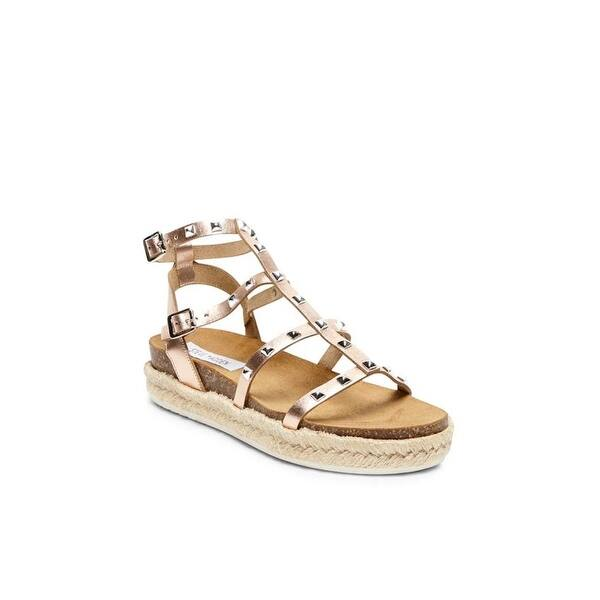 3c5084bca27 Shop Steve Madden Womens Array Leather Open Toe Casual Ankle Strap ...