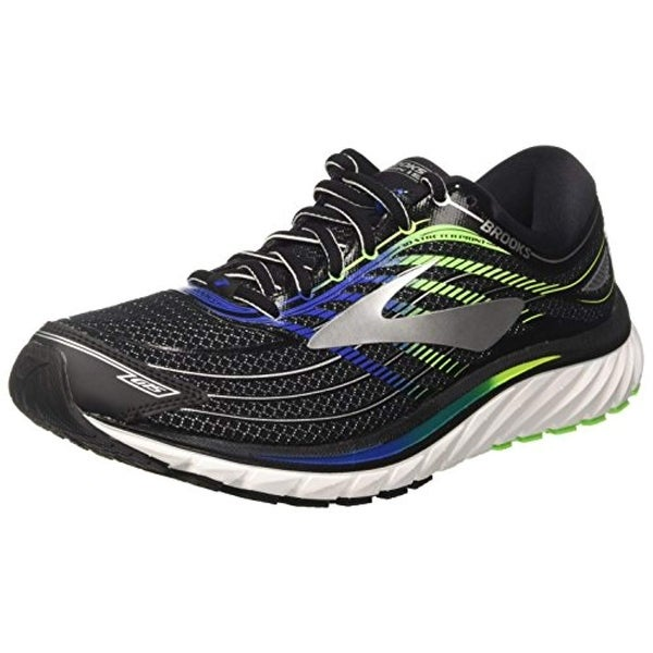 c831148c097 Shop Brooks Men s Glycerin 15 Black Electric Brooks Blue Green Gecko 11 D  Us D (M) - Free Shipping Today - Overstock.com - 25629644