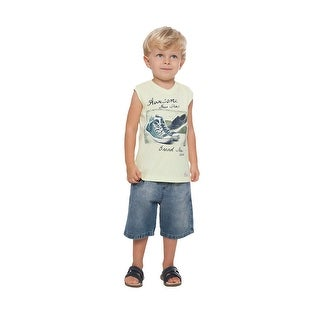 Toddler Boy Tank Top Little Boy Summer Graphic Muscle Shirt Pulla Bulla 1-3 Year (More options available)
