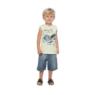 Toddler Boy Tank Top Little Boy Summer Graphic Muscle Shirt Pulla Bulla 1-3 Year (3 options available)