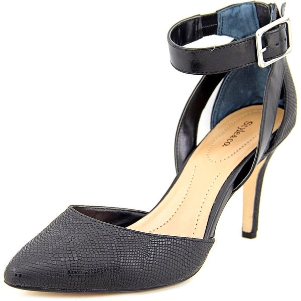 Style & Co Maisyy Women  Pointed Toe Synthetic Black Heels