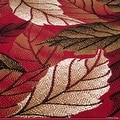 """Allstar Red Area Rug. Contemporary. Abstract. Traditional. Formal. Shapes. Spirals. Circles (5' 2"""" x 7' 1"""") - Thumbnail 4"""
