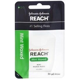 REACH Mint Waxed Floss 55 Yards
