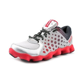 Reebok ATV 19 Youth Round Toe Synthetic Gray Running Shoe