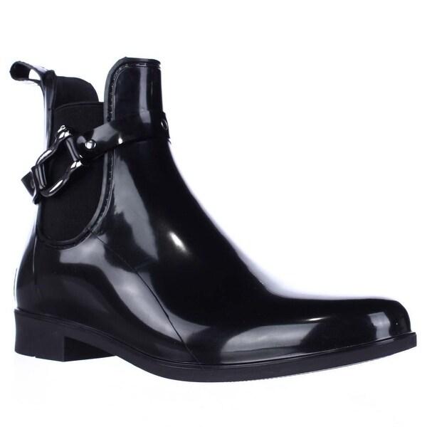 Nautica Seacoast Short Rain Boots, Black