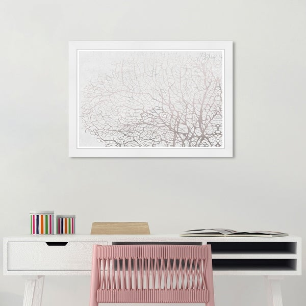 Wynwood Studio 'Seatree Concrete' Nautical and Coastal Gray Wall Art Framed Print. Opens flyout.