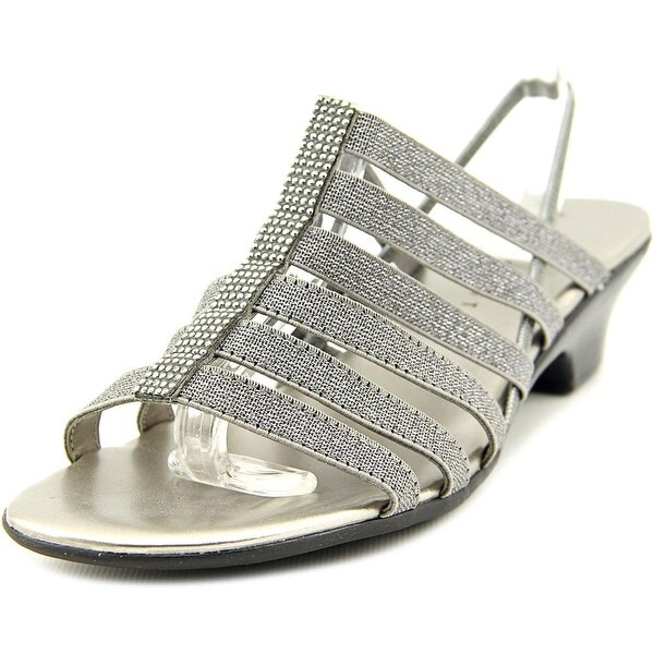 Karen Scott Estevee Women Pewter Sandals