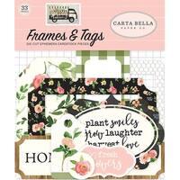 Frames & Tags - Spring Market Ephemera Cardstock Die-Cuts 33/Pkg