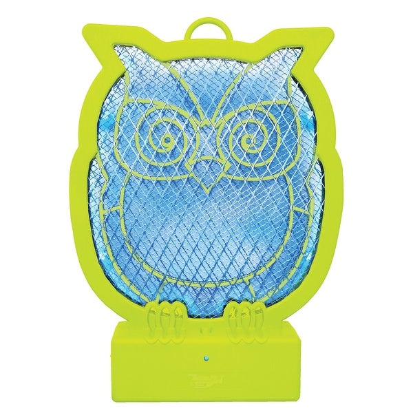 LED 2 In 1 Tabletop or Hanging Rechargeable Ninja Owl Bug Zapper - 11