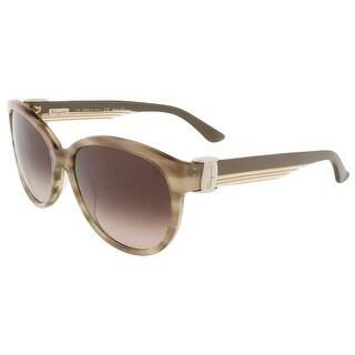 Salvatore Ferragamo SF651S 279 Beige Butterfly sunglasses