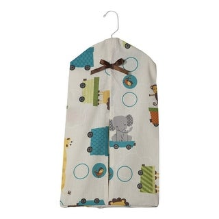 Bedtime Originals Choo Choo Animal Train Print Diaper Stacker
