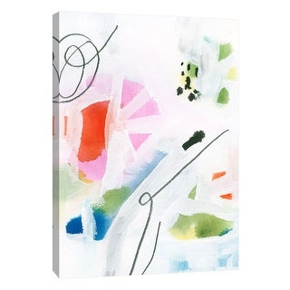 """PTM Images 9-108657  PTM Canvas Collection 10"""" x 8"""" - """"Candy-Scape 4"""" Giclee Abstract Art Print on Canvas"""