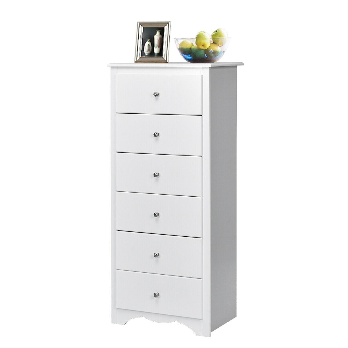 Gymax 6 Drawer Chest Dresser