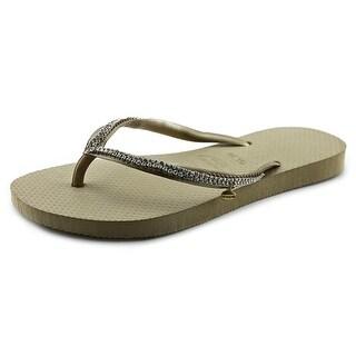 Havaianas Crystal Mesh Women Open Toe Synthetic Flip Flop Sandal