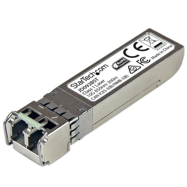 Startech - Ensure Reliable, Cost-Efficient 10Gb Ethernet Connections Over Multi-Mode Fiber