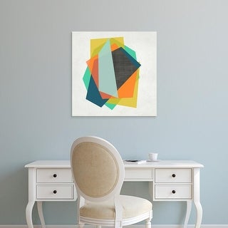 Easy Art Prints Chariklia Zarris's 'Integer I' Premium Canvas Art