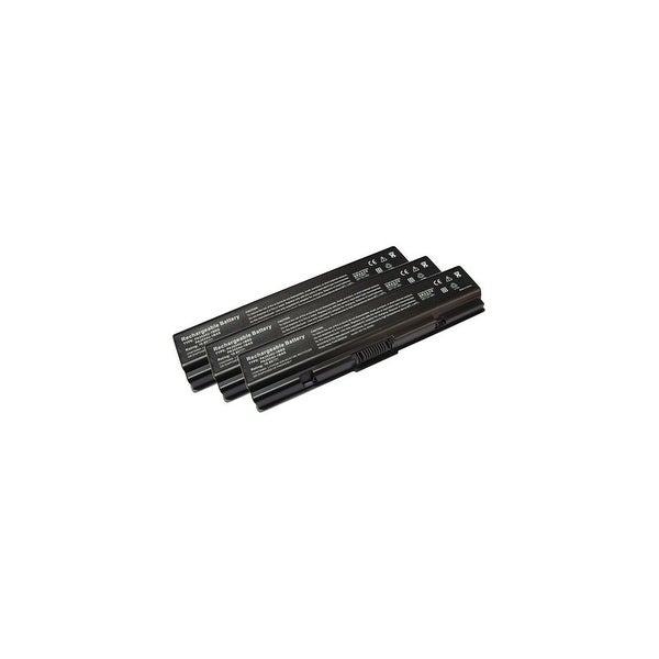 Replacement For Toshiba PA3534U-1BRS Laptop Battery (4400mAh, 10.8v, Li-Ion) - 3 Pack