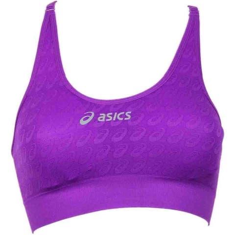 Asics Womens Asx Seamless Sports Bra Cross Training Athletic Compression & Base Layer Sports Bra