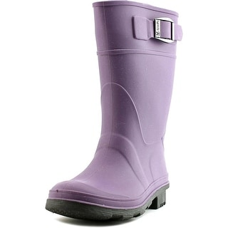 Kamik Raindrops   Round Toe Synthetic  Rain Boot