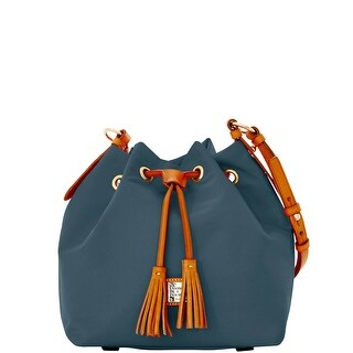 Dooney & Bourke Windham Small Kade Drawstring (Introduced by Dooney & Bourke at $198 in Jul 2016) - Charcoal
