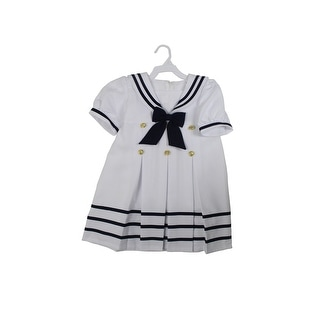 Paperio Toddler Girls Sailor Outfits Halloween Costume White