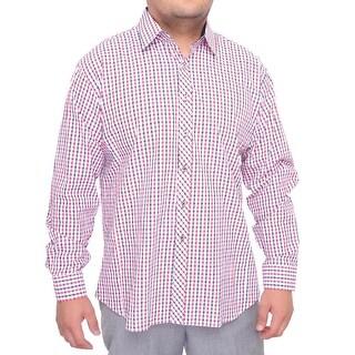 Jared Lang Long Sleeve Dress Button Down Men Regular Dress Button