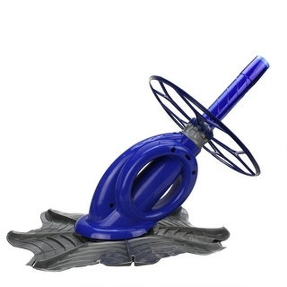 Automatic In-Ground Swimming Pool Cleaning System with Extruded Hose - Blue