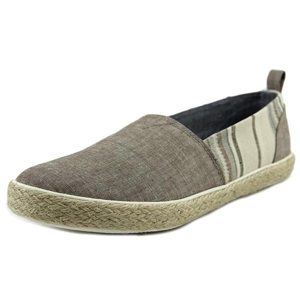 Generic Surplus Slip-on Men  Round Toe Canvas Brown Loafer