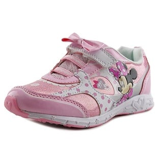 Disney Minnie Sneaker Youth Round Toe Synthetic Pink Sneakers