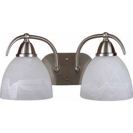 """Volume Lighting V2612 Kora 2 Light 17.5"""" Width Bathroom Vanity Light"""