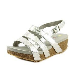 Volatile Kids Marmalade Open Toe Synthetic Wedge Sandal